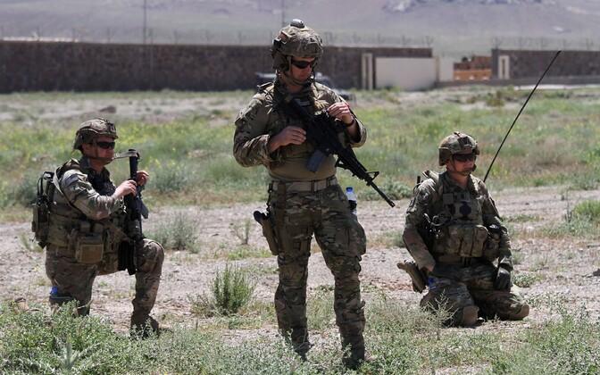 Американские солдаты в Афганистане.