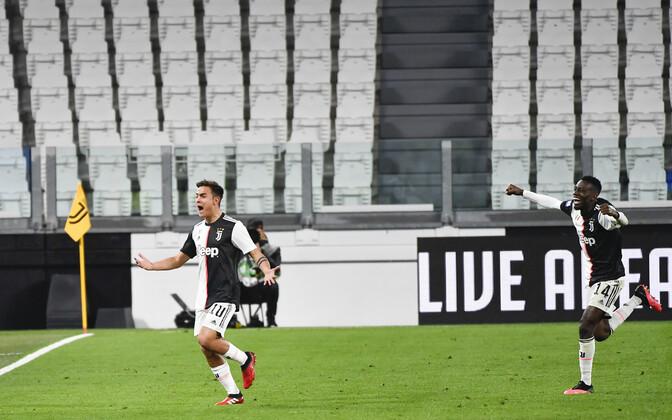 Juventuse ja Milano Interi omavaheline kõrgliigakohtumine peeti ilma pealtvaatajateta