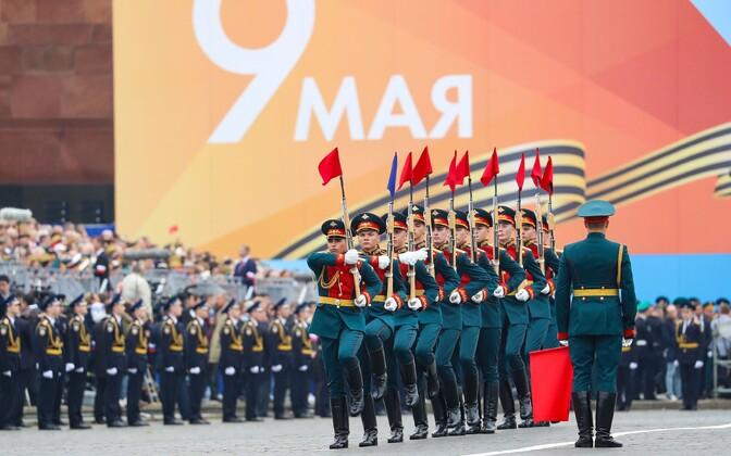 Парад 9 мая в Москве.