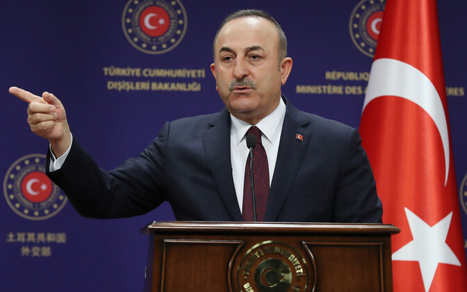 Türgi välisminister Mevlüt Cavusoglu.