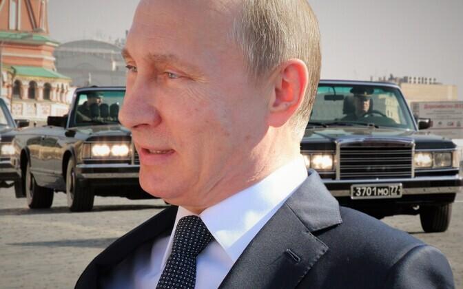 Владмир Путин.