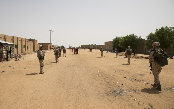 Regular EDF personnel in Mali, based in the eastern city of Gao.