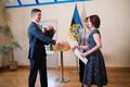 Presidendi noore teadlase ja IT-teadlase preemia üleandmine.
