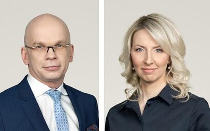 Allar Jõks ja Kadri Härginen.