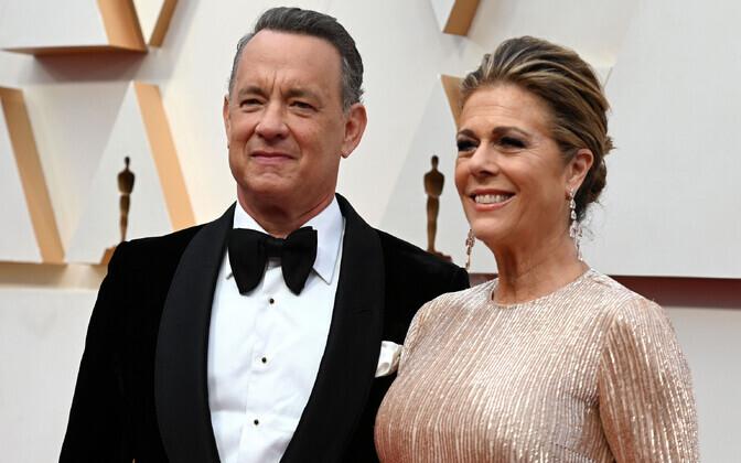 Tom Hanks ja Rita Wilson, arhiivifoto.