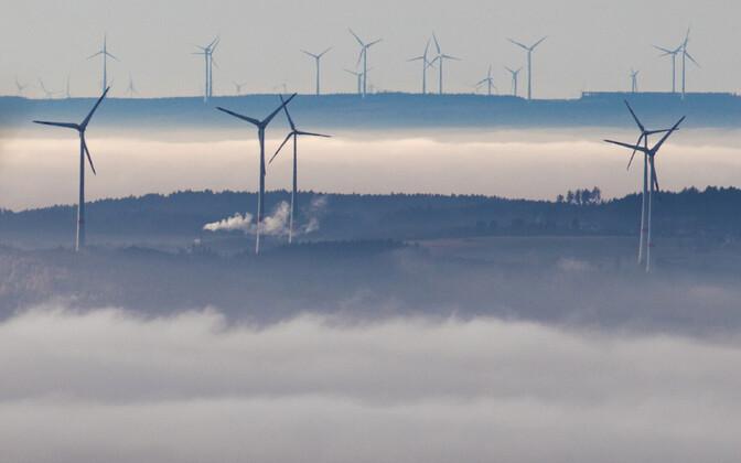 Tuulegeneraatorid Saksamaal.