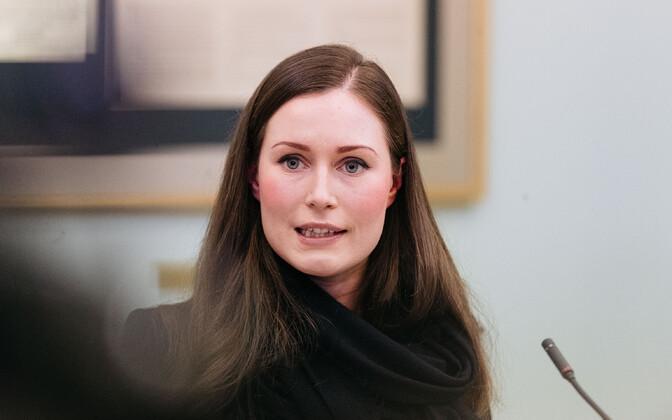 Премьер-министр Финляндии Санна Марин.