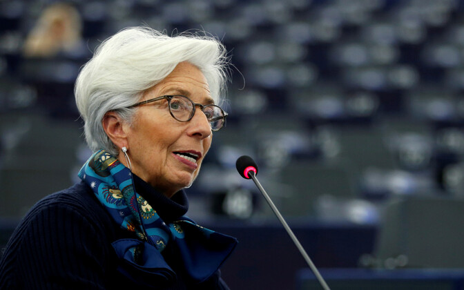 Euroopa Keskpanga president Christine Lagarde.
