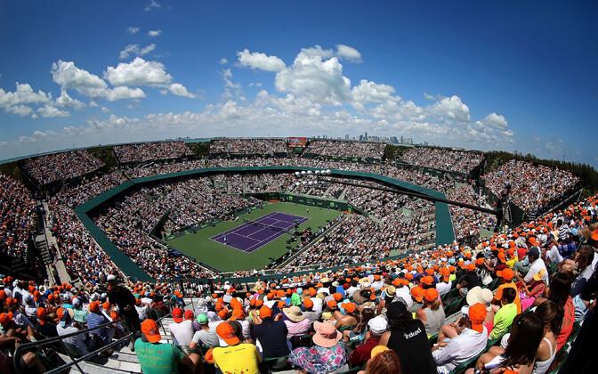 Miami tenniseturniiri peaväljak