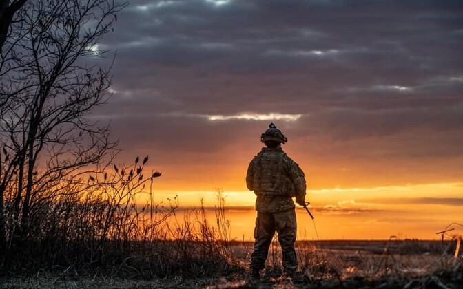 USA sõdur õppusel.