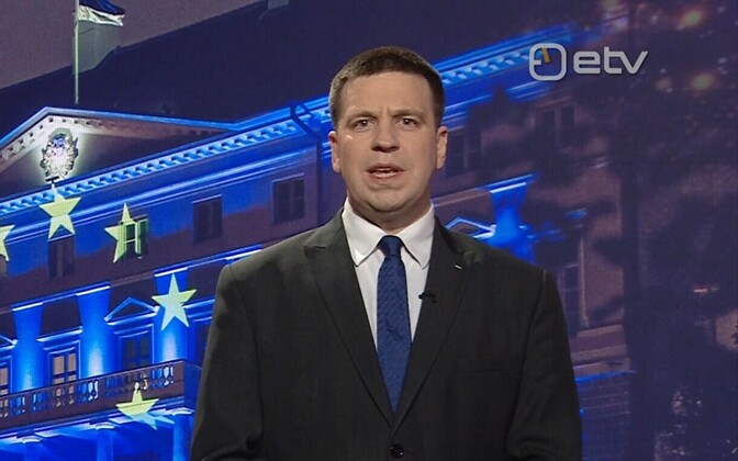 Prime Minister Jüri Ratas' address.