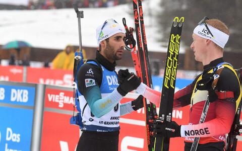 Martin Fourcade ja Johannes Thingnes Bö