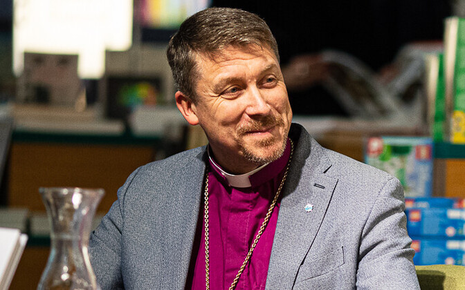 Head of the Estonian Evangelical Lutheran Church (EELK) Archbishop Urmas Viilma
