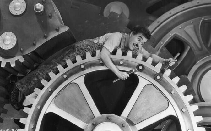 """Charlie Chaplin, """"Moodsad ajad"""" (1936)"""