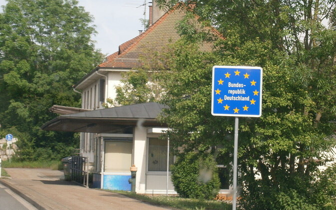 Saksamaa piir läheb kinni.