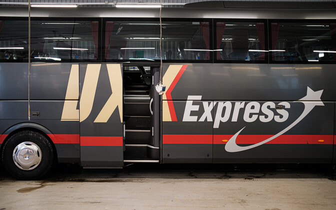 Lux Express bus.