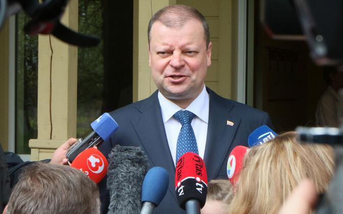 Leedu peaminister Saulius Skvernelis, arhiivifoto.