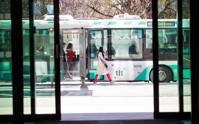 Tallinn Transport buses.