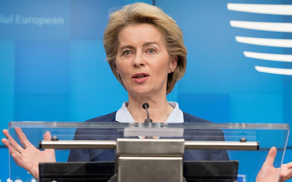Председатель Еврокомиссии Урсула фон дер Ляйен.