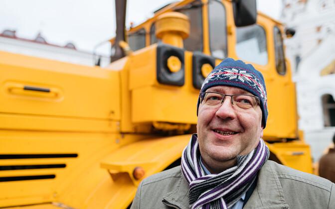 Министр сельской жизни Арво Аллер.