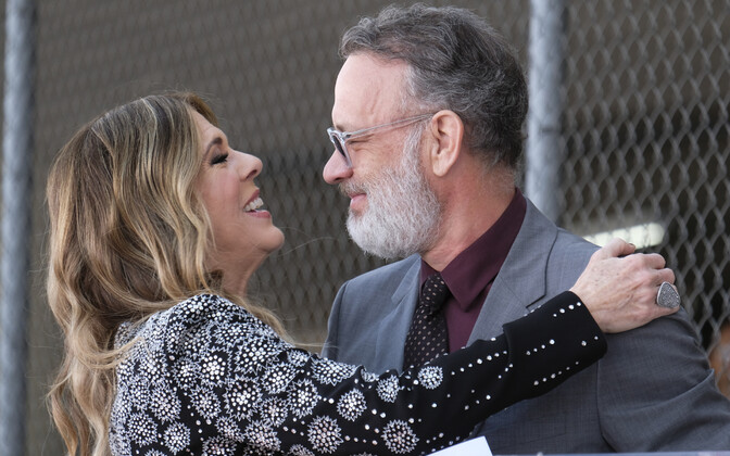 Tom Hanks & Rita Wilson