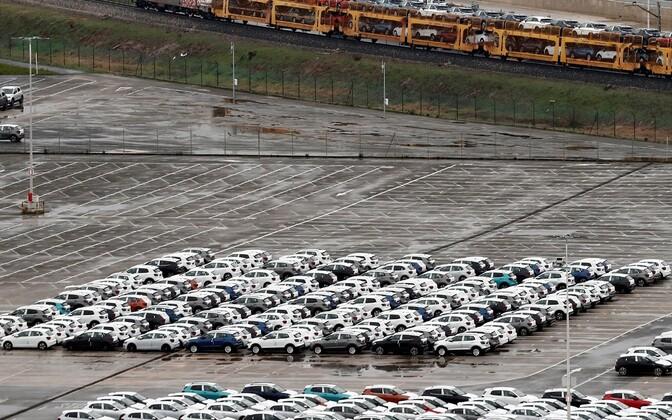 Volkswageni tehas Hispaanias Pamplonas pärast sulgemist.