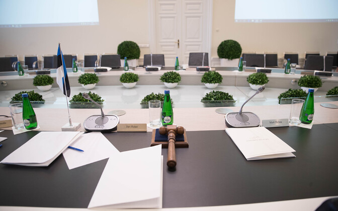 Government meeting table (picture is illustrative).