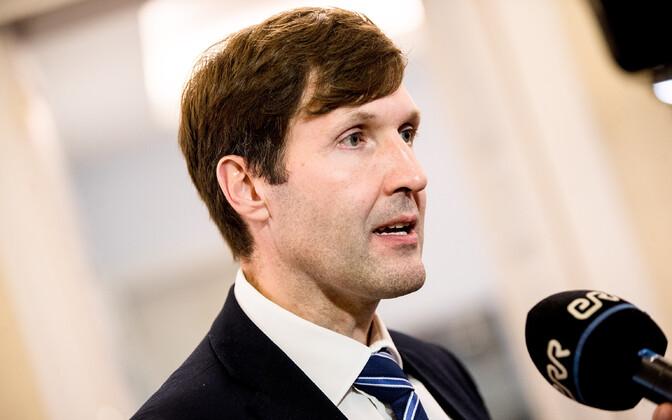 Finance minister Martin Helme (EKRE).