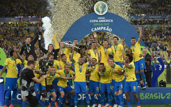 2019. aastal võitis Copa America Brasiilia.