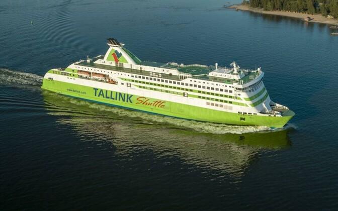Tallink's Star shuttle ferry.