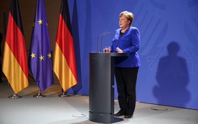 Пресс-конференция Ангелы Меркель.