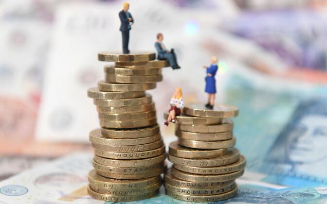Eesti palgaerinevus kujuneb 35 protsendi ulatuses ettevõtte tasandil