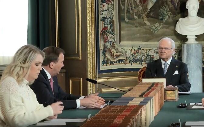 Rootsi kuninga Carl XVI Gustafi telepöördumine.