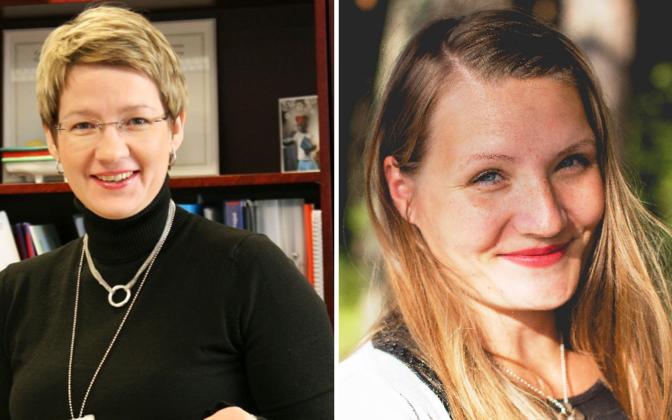 Evelin Pärn-Lee ja Kati Jakobson-Lott