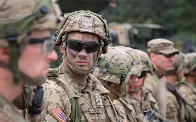 USA sõdurid Poolas õppusel, arhiivifoto.