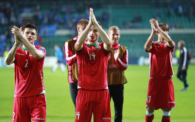 Valgevene jalgpallurid