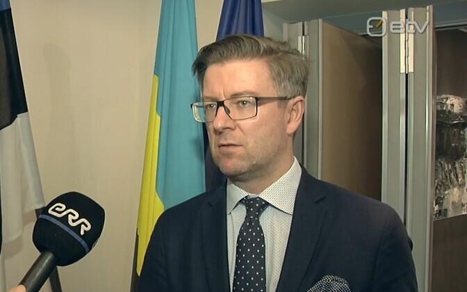 Estonian ambassador to Ukraine Kaimo Kuusk.
