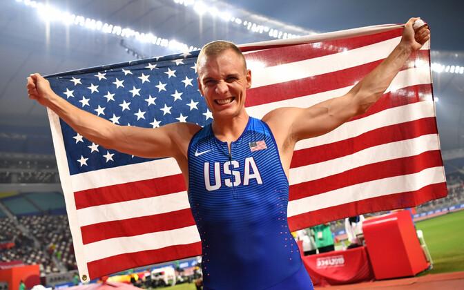 USA maailmameistrist teivashüppaja Sam Kendricks