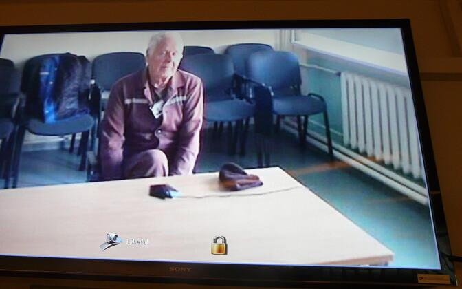 Мярт Рингмаа отбывает срок в Вируской тюрьме.