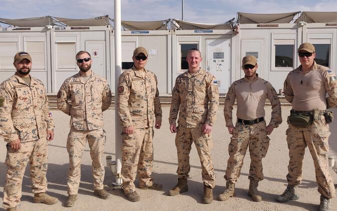 Эстонские военнослужащие в Ираке в январе этого года.