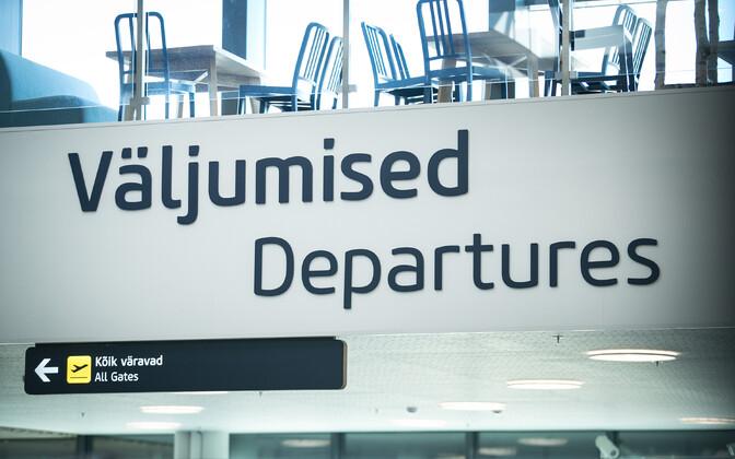 В Таллиннском аэропорту осталось четыре регулярных рейса.