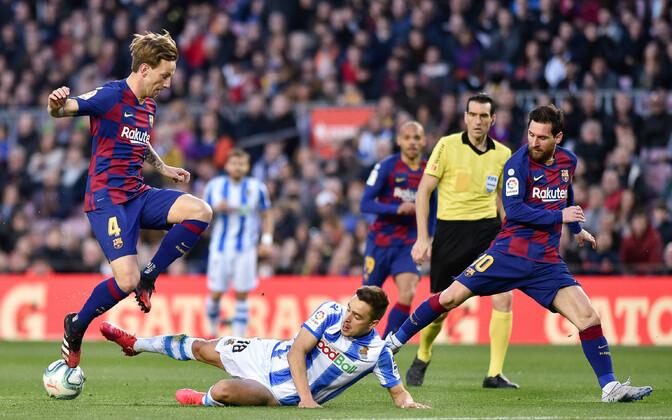 Hispaania jalgpalli kõrgliiga: Barcelona - Real Sociedad