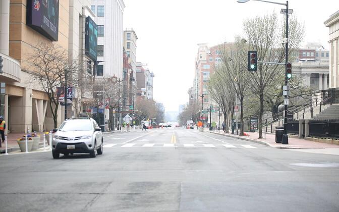 Vaikne tänav Washingtonis.