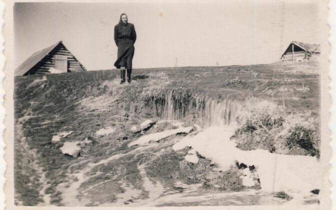 Krasnojarski krai Bogradi rajoon, Soni küla 1950. aastatel.
