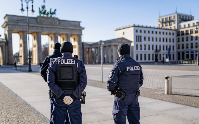 Politseinikud Berliinis.