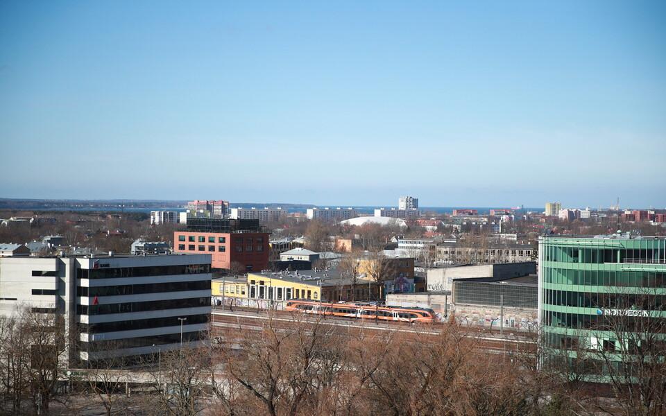 Vaade Balti jaamale ja Põhja-Tallinnale