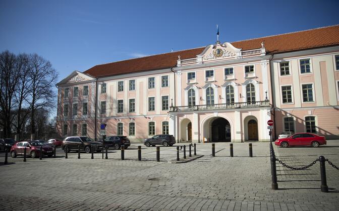 Toompea, seat of the Riigikogu.