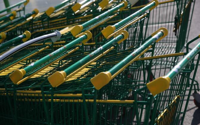 Prisma shopping carts.