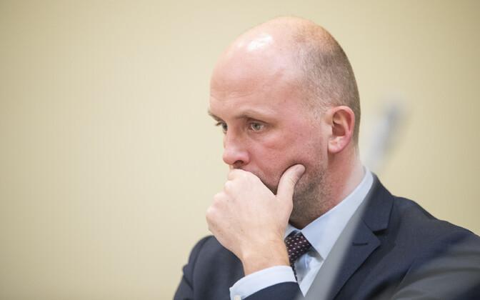 Secretary of State Taimar Peterkop.