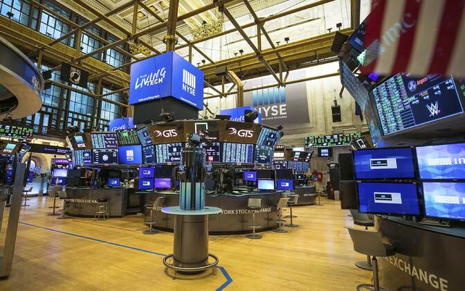 NYSE ehk New Yorgi börsi kauplemispõrand on esimest korda 228 aasta jooksul tühi.